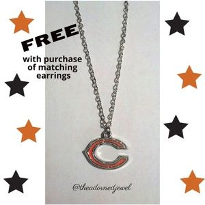 🧡🏈Chicago Bears Fashion Jewelry Necklace🏈